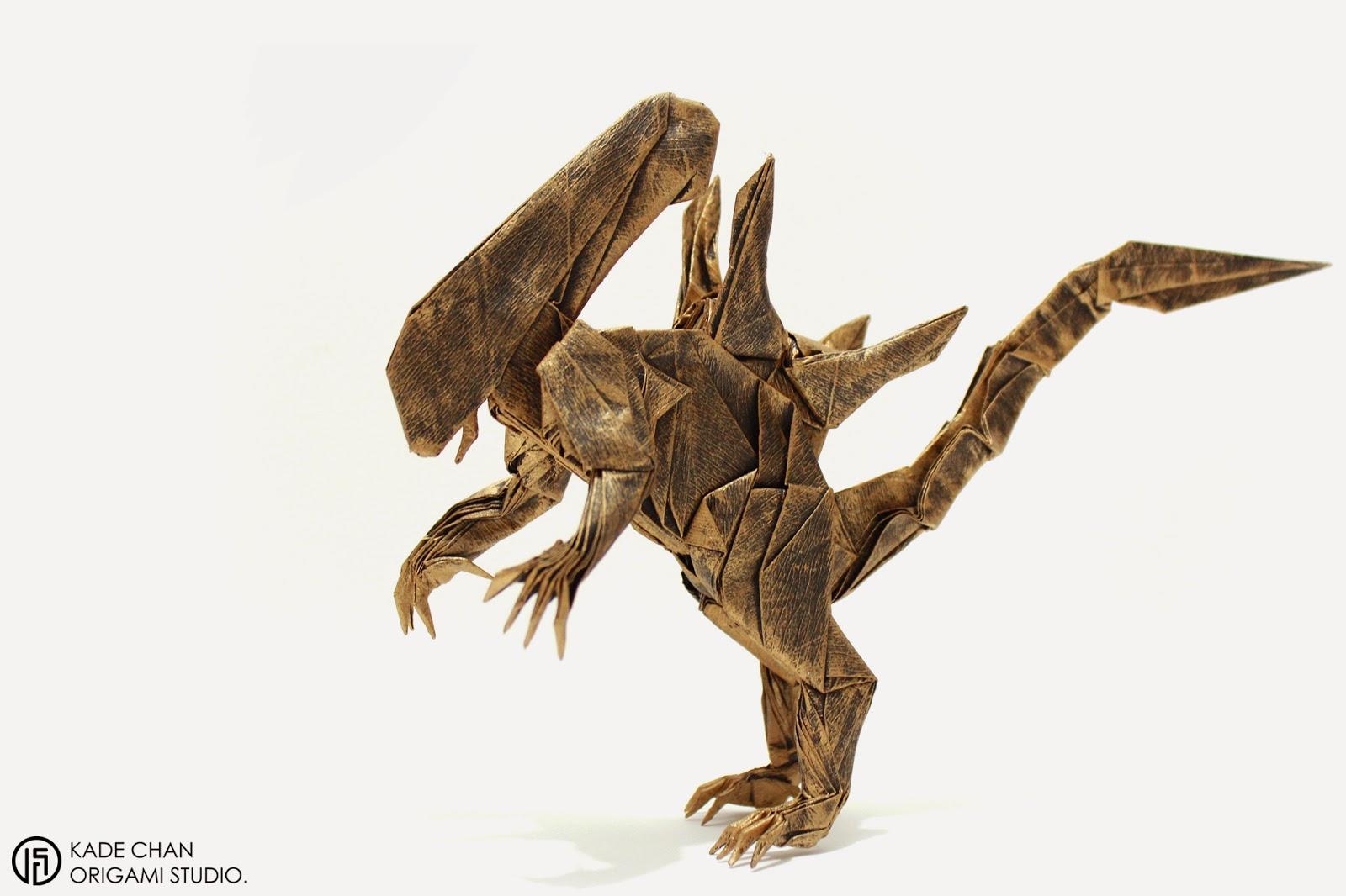 kade chan origami blog �������������� ��� origami alien