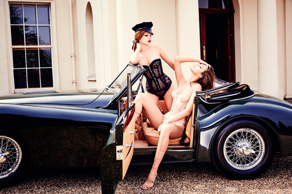 Agent Provocateur Classics Lookbook Fall 2015