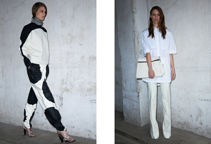 Celine resort 2013 black and white pieces