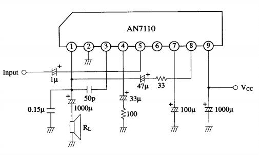 amplifiercircuits com  an7110