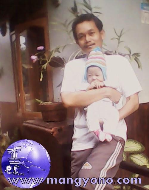 """Anak kedua saya """" Gigin"""" Lahir tahun 2012"""