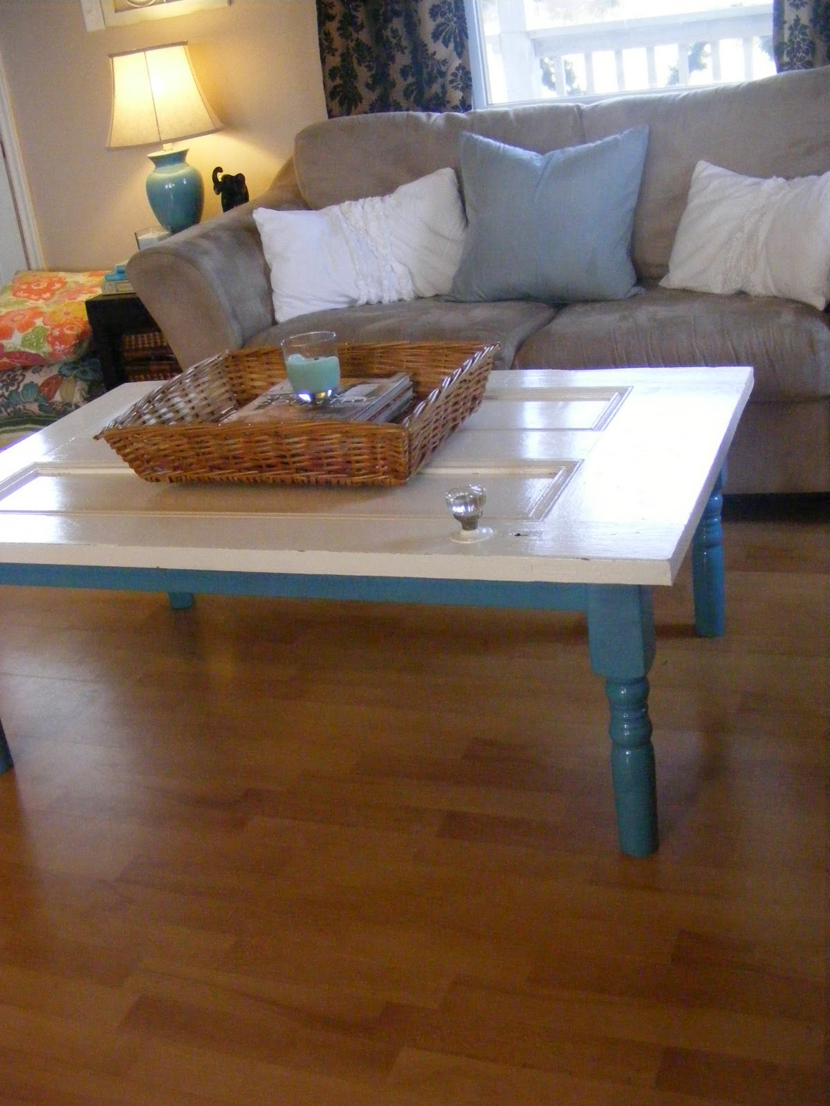 The complete guide to imperfect homemaking new coffee table from new coffee table from an old door geotapseo Images
