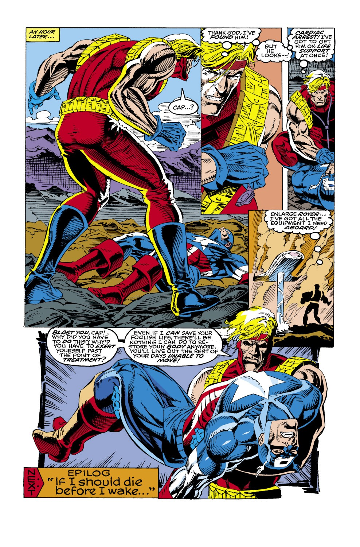 Captain America (1968) Issue #436 #386 - English 22