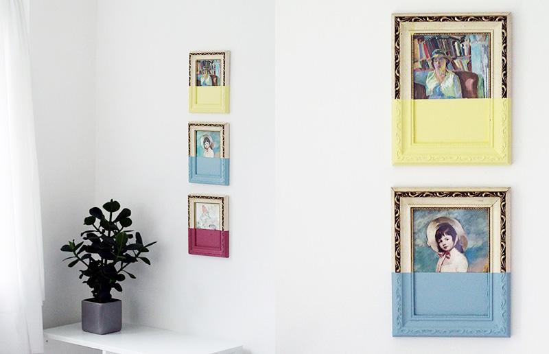 DIY: quadros decorativos e modernos