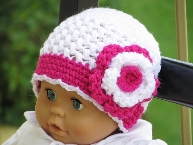 Crochet Patterns Beanie : Crochet Dreamz: Sofia Beanie Crochet Pattern, Newborn to Woman sizes