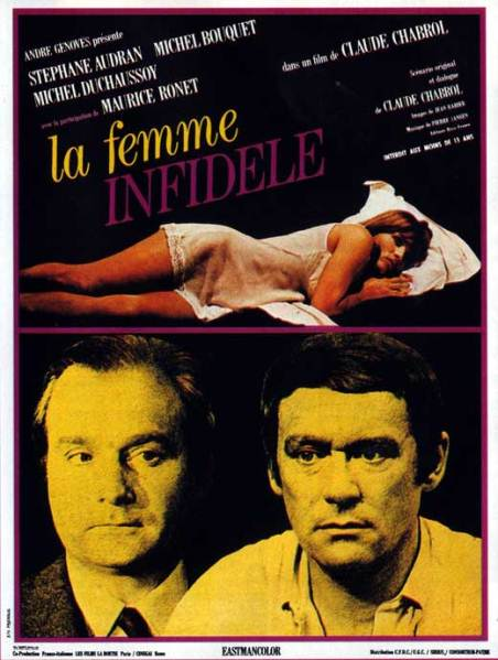 cinemascope the unfaithful wife la femme infid le 1969. Black Bedroom Furniture Sets. Home Design Ideas