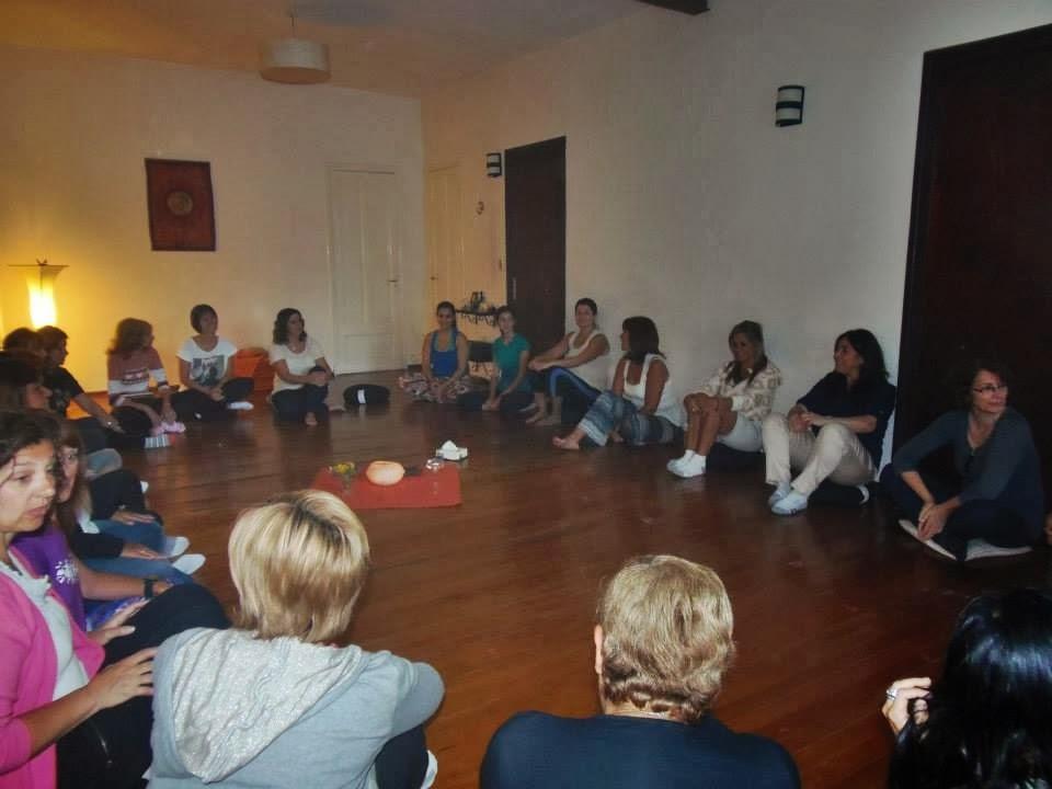 Círculo de Mujeres en Silencio Serrano - 8 de marzo 2014