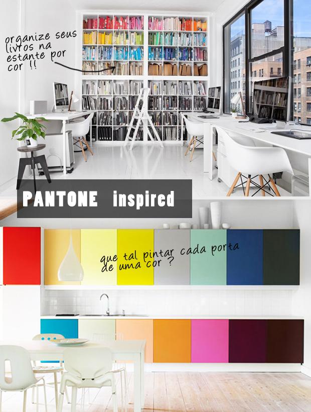 Decoração Inspiração Pantone