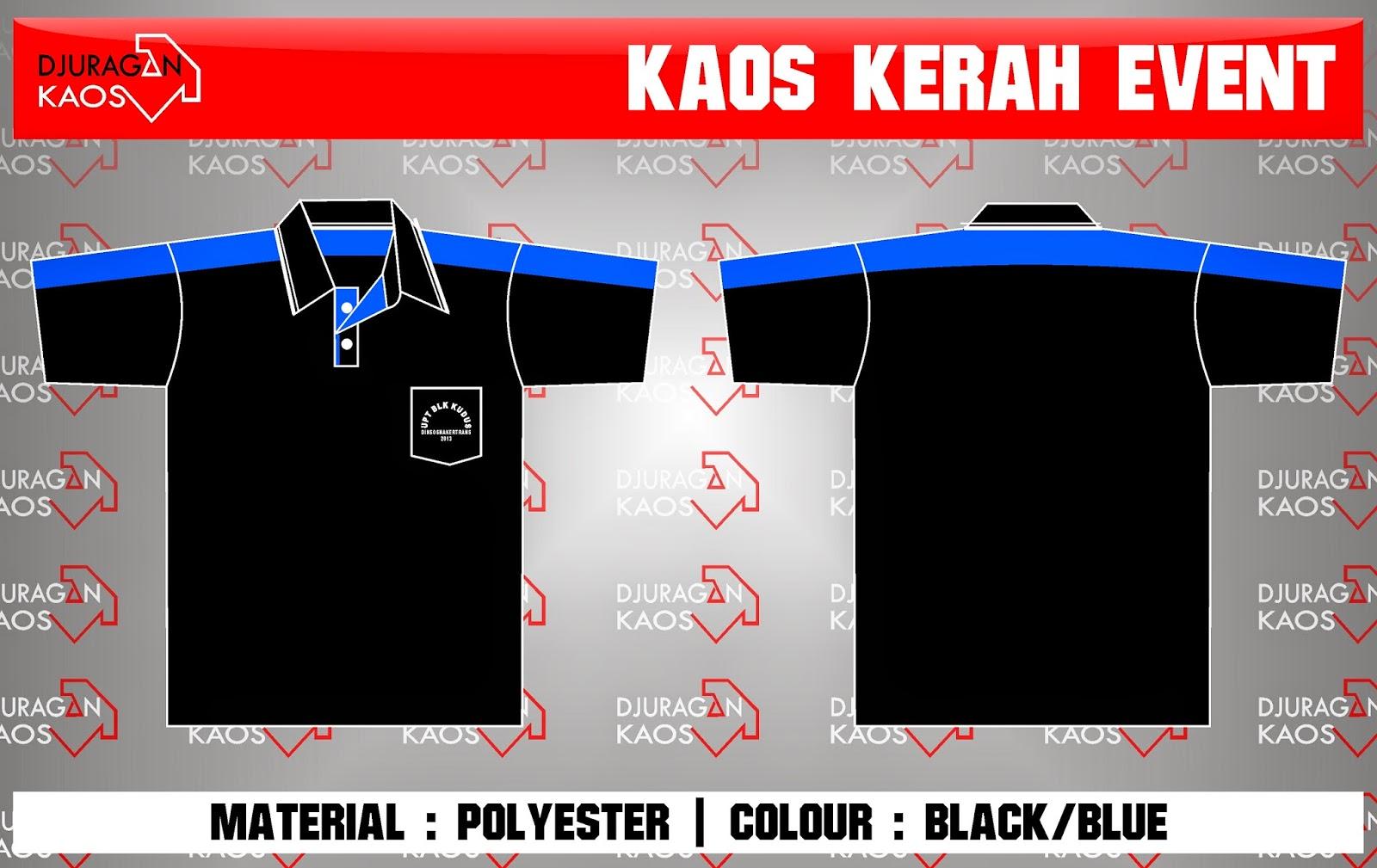 Accecories Design Kaos Kerah Dinsosnakertrans Kudus