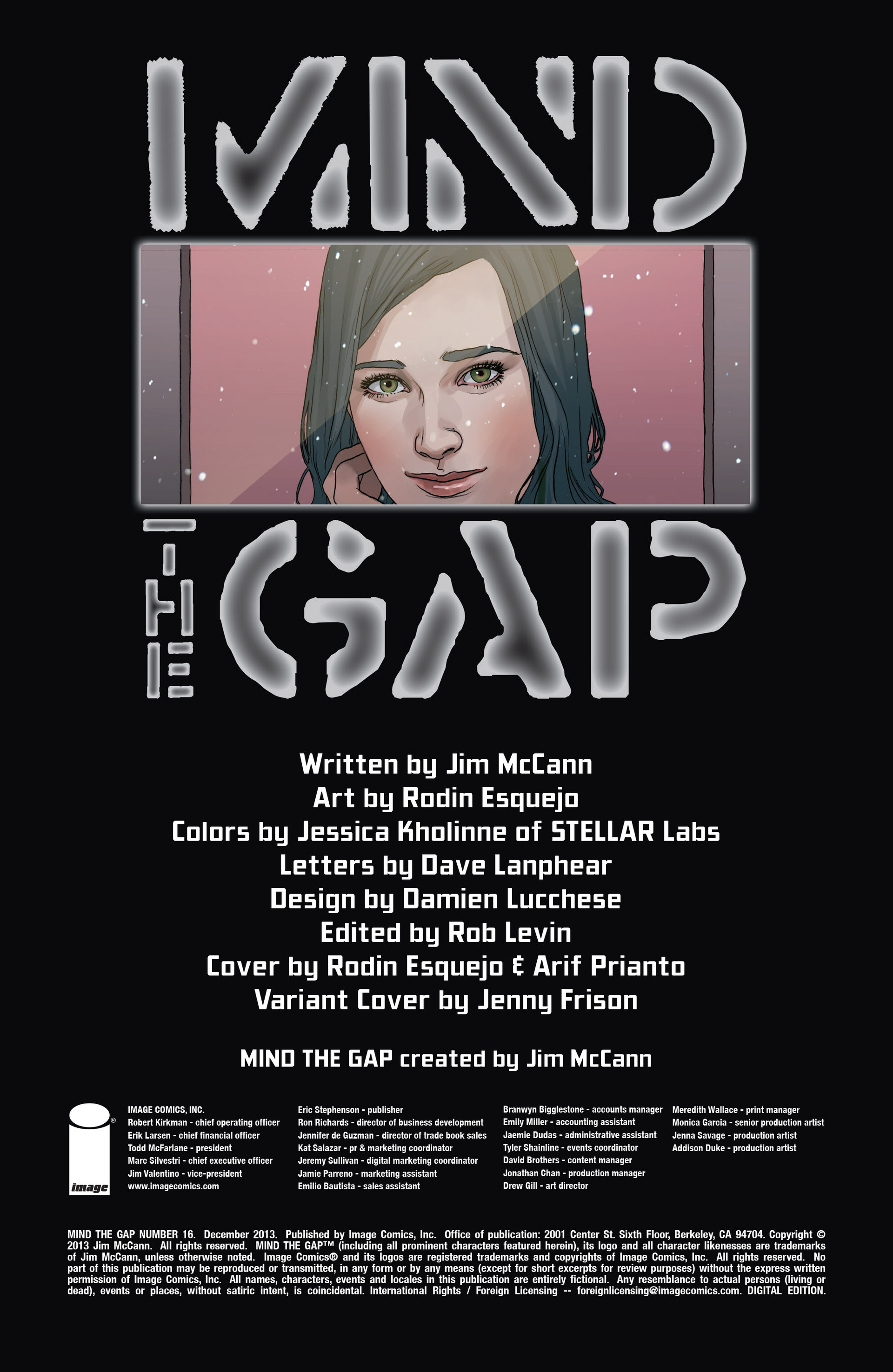 Read online Mind The Gap comic -  Issue #16 - 3