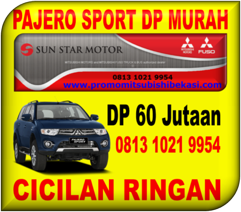 PAJERO SPORT DP MURAH