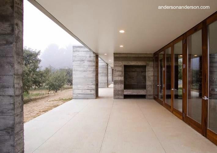 Arquitectura de casas dise o de una casa moderna rural en - Casa rural diseno ...