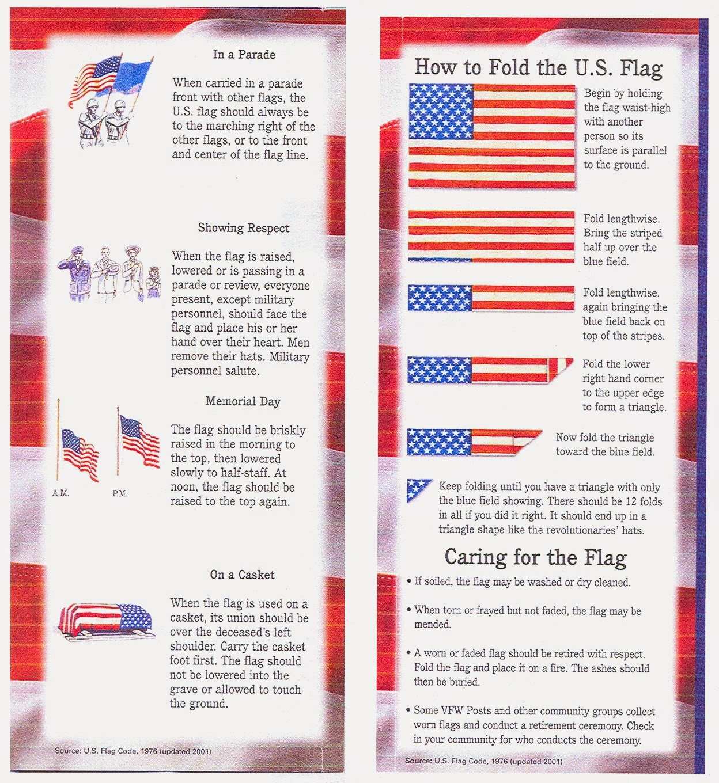 American Flag Etiquette Memes