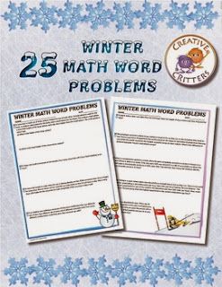 http://www.teacherspayteachers.com/Product/25-Winter-Math-Word-Problems-983358