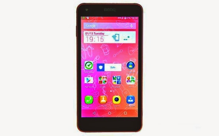 harga hp benq f52 android lollipop quadcore 4g lte 13mp