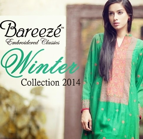 Bareeze Winter Collection 2014