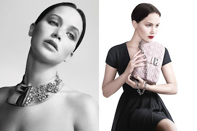 Jennifer Lawrence Miss Dior 2013 Campaign