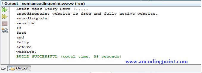 Java String Programming