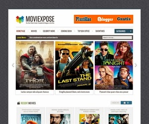 Blogger template MovieXpose