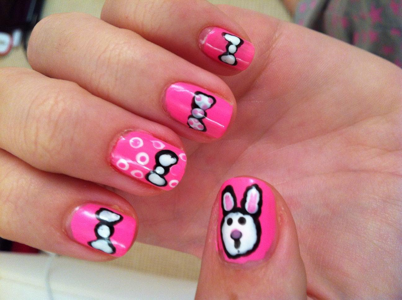 Cute Nail Designs For Little Girls Perfect Nail Art Designs For Girls