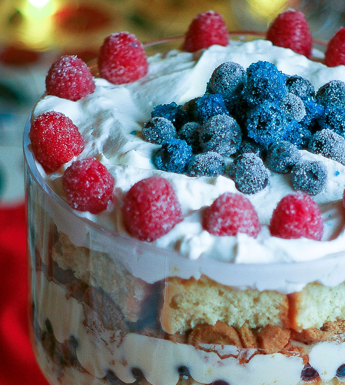 The Yum Yum Factor: Rum and Eggnog Tres Leches Trifle