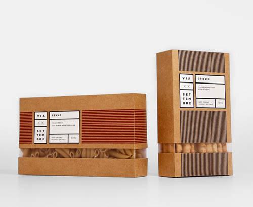 design de embalagem - food packaging design - Via XX Settembre