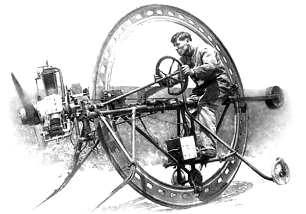Alfred E. D'Harlingue Monowheel Propeller