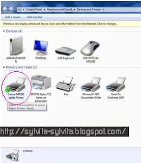 Tips Cara Sharing Printer di Windows 7 dengan Mudah