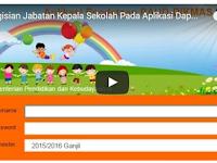 Video Tutorial Pengisian Jabatan Kepala Sekolah Pada Aplikasi Dapodik Paud Dikmas