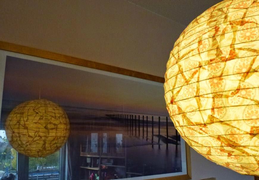 DIY Lampe aus Papier und Decoupage