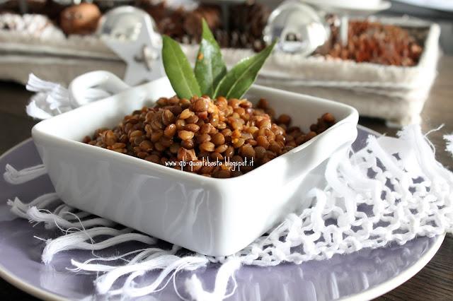 www.qb-quantobasta.blogspot.it: Lenticchie senza ammollo con speck e cotechino nei Pancestini @Stagnati