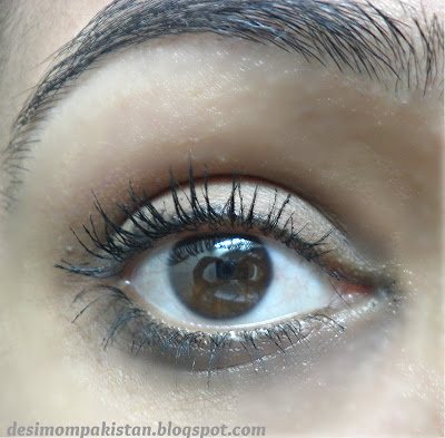 GOLDEN ROSE PERFECT LASHES GREAT WATER PROOF MASCARA after two coats