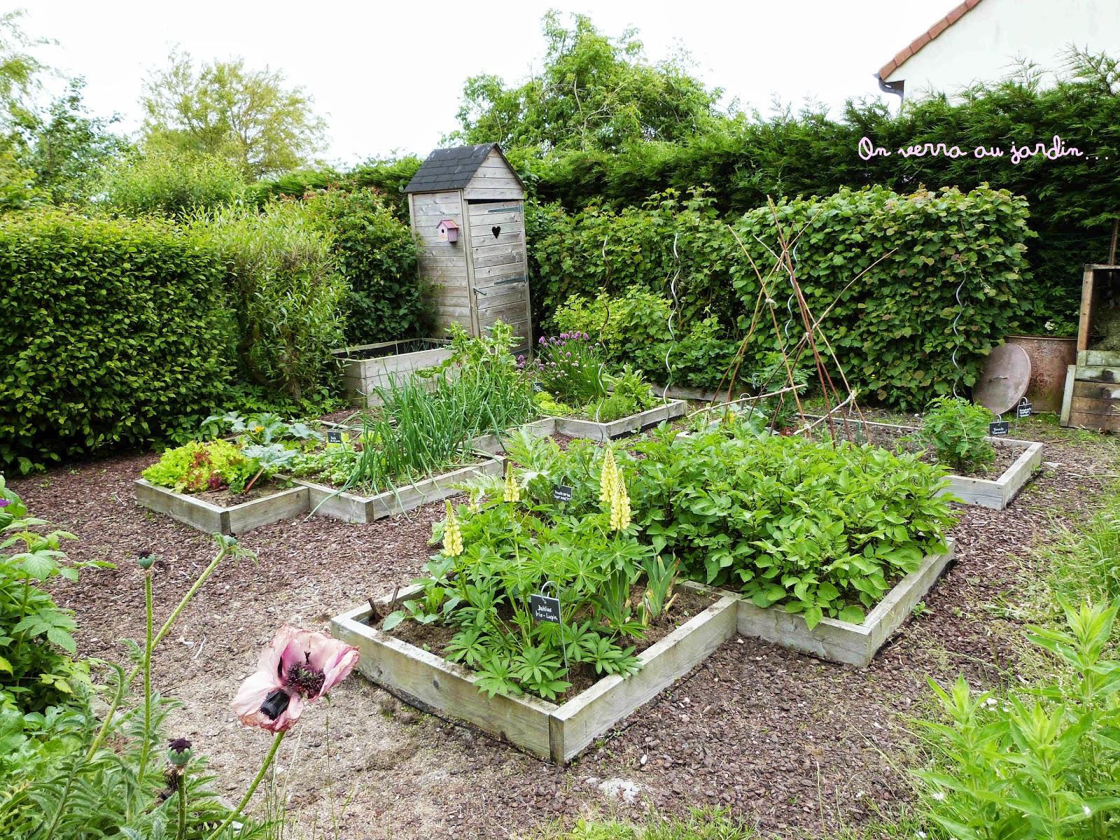 On Verra Au Jardin Le Potager Au Fil Des Mois