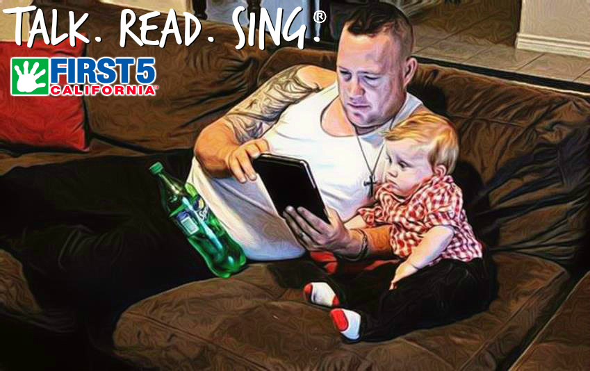Talk.Read.Sing® with children under 5 to help their growing brains engage and grow when it matters most! #First5California (ad)