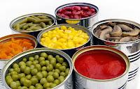teneke konserve çeşitleri, domates bezelye mısır havuç mantar fasulye pilaki konservesi