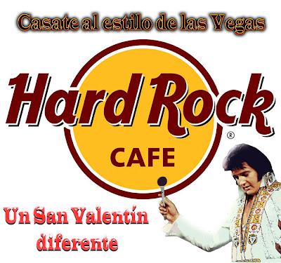 Idea celebrar San Valentín de una forma diferente en Hard Rock Café