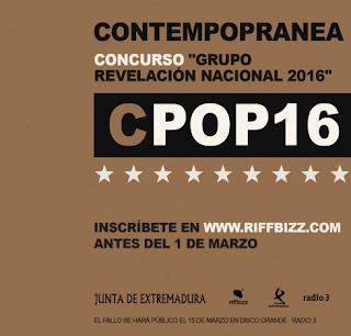 """Concurso de bandas emergentes """"Grupo Revelación Nacional 2016"""""""