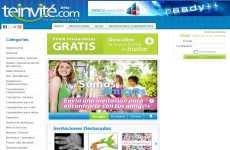 Invitaciones online gratis: TeInvité