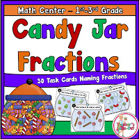 Candy Jar Fractions Task Cards