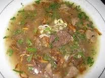 adalah soto daging sapi, sedangkan soto daging selain daging sapi ...
