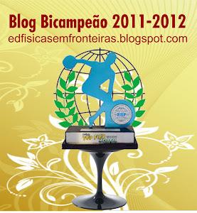 BLOG CAMPEÃO do Prêmio Top FIEP Brasil  2011-2012