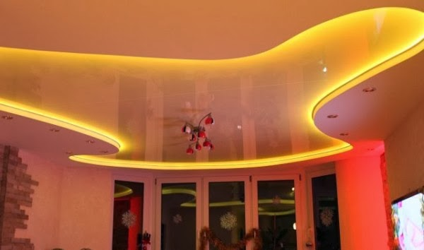 15 false ceiling designs with ceiling lighting for small rooms - Amazing false ceiling designs ...