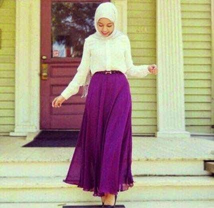 Jupe longue hijab 2014
