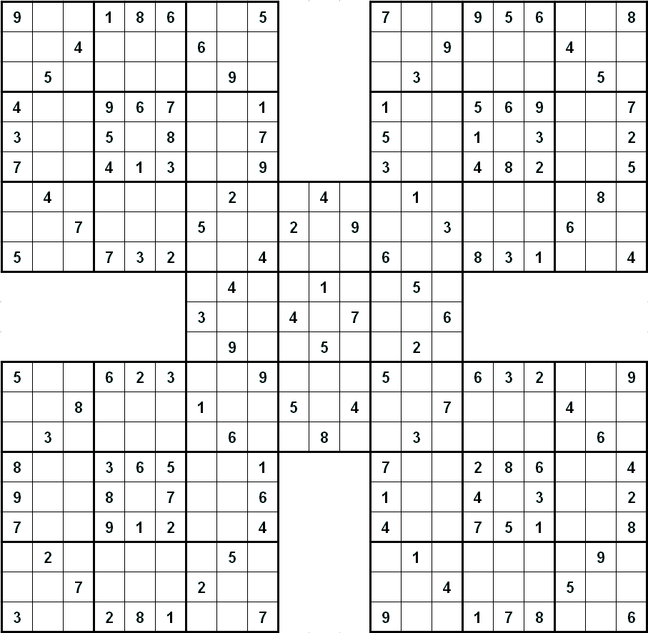 Sudoku Grids To Print 6 To Page | LONG HAIRSTYLES