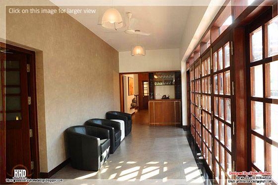 Beautiful 1500 square feet villa design for Veedu interior photos