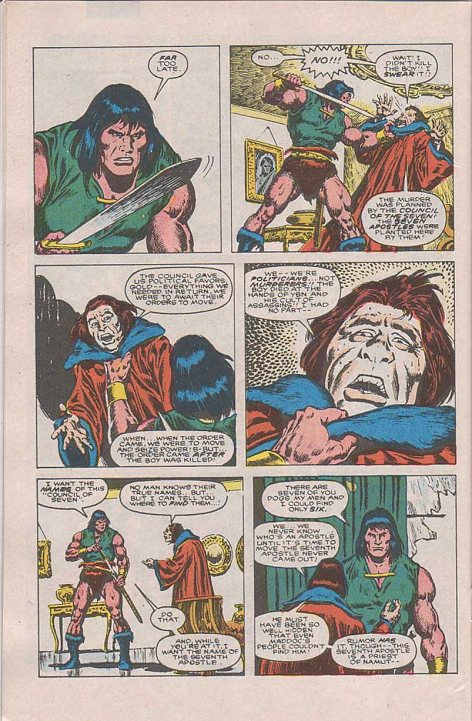 Conan the Barbarian (1970) Issue #189 #201 - English 19
