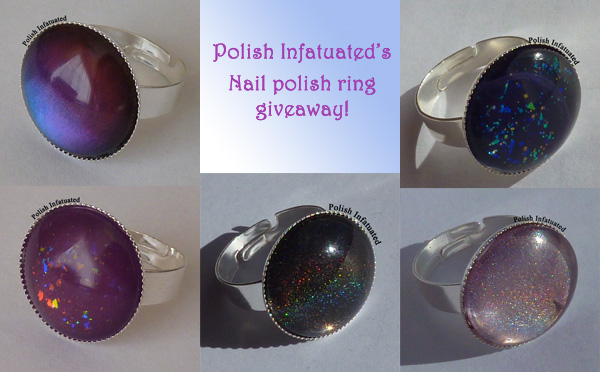 Polish Infatuated's Second Blog Anniversary's Giveaway Two!