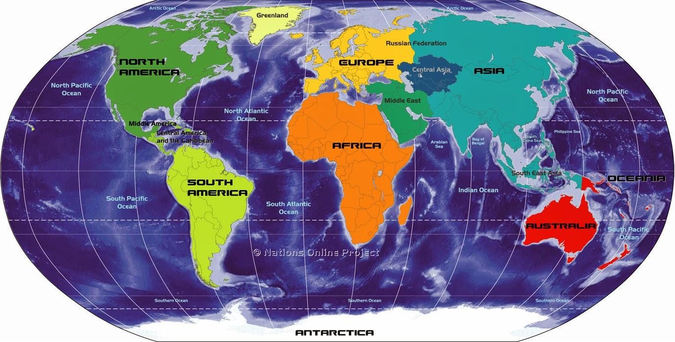 World map: latest news updates, website list