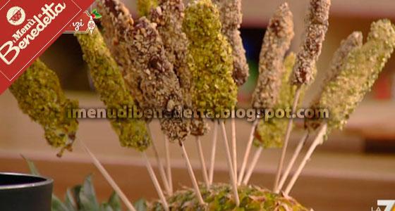 Frutta Stecca (Spiedini di Frutta Secca) di Benedetta Parodi