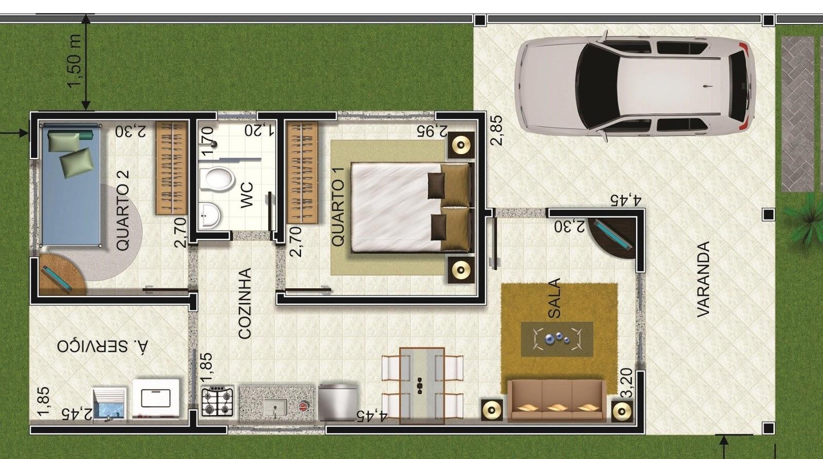 #51682F Realizamos seus sonhos ao melhor preço e qualidade solicite seu  1600x893 px Projetos De Casas Com Cozinha Americana #169 imagens